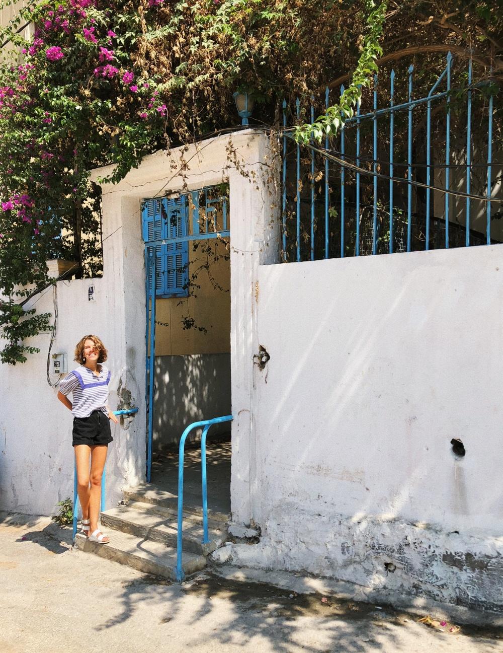 POSTKORT FRA LIBANON 11