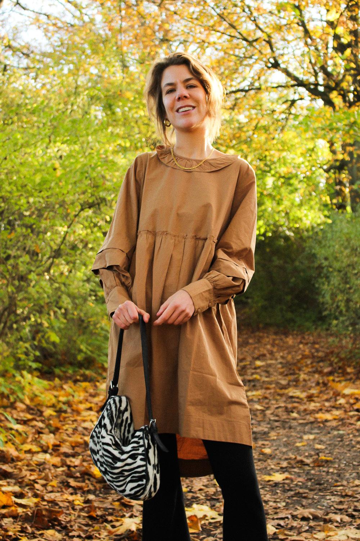 Brun kjole fra Pieces