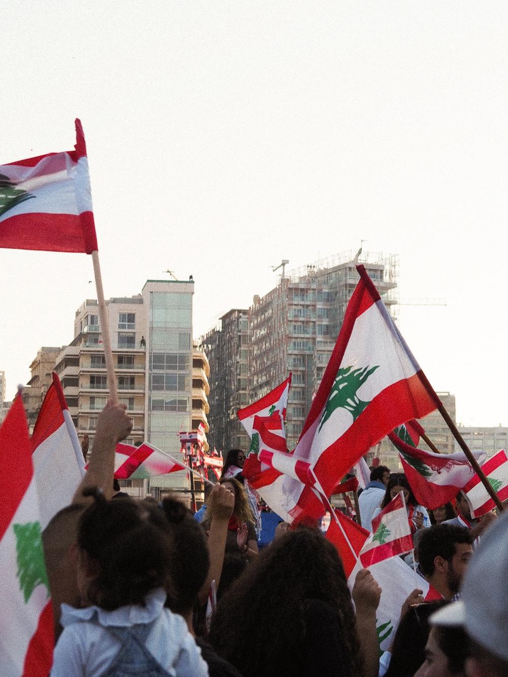 POSTKORT FRA LIBANON 3
