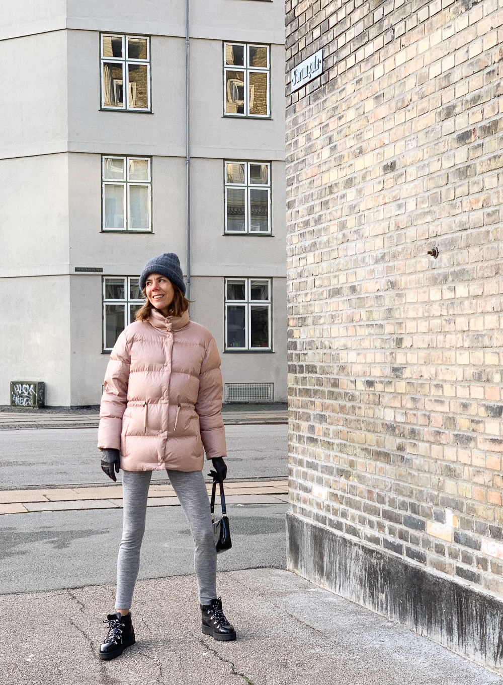 Puffer jacket fra & Other Stories