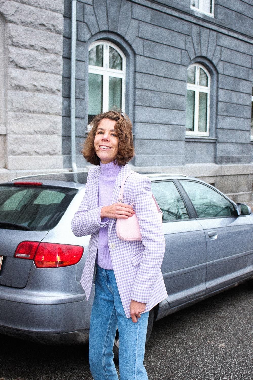 Lilla blazer fra & other stories