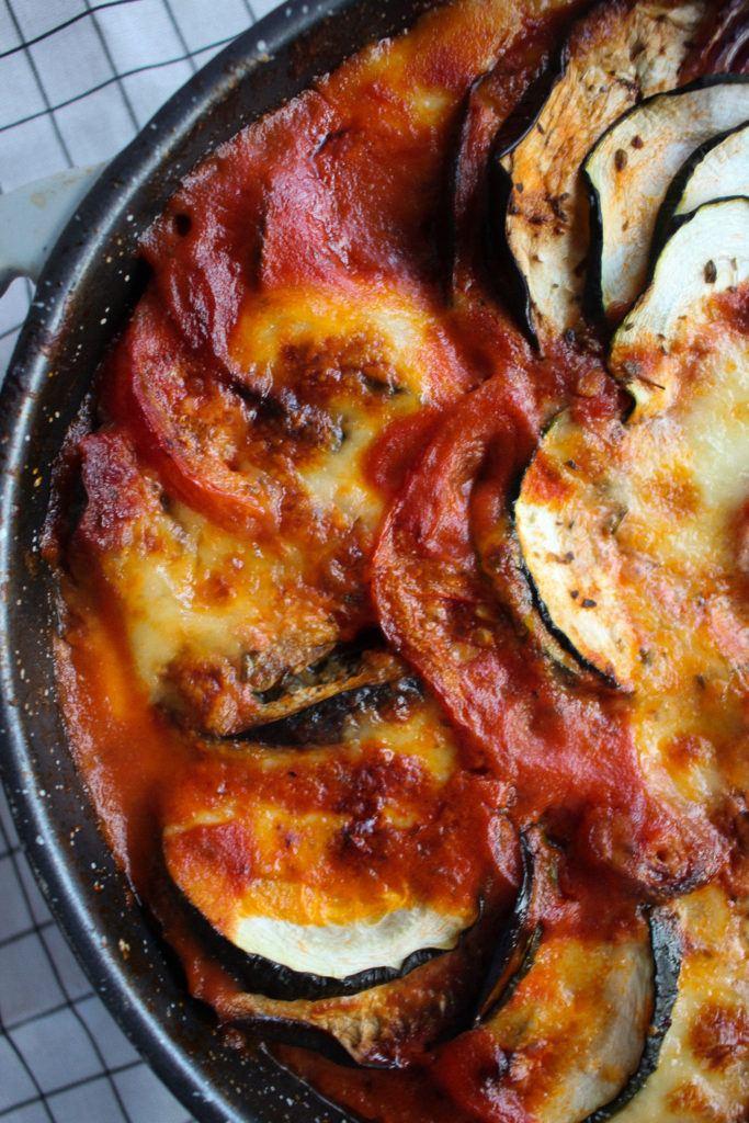 ratatouille med mozzarella