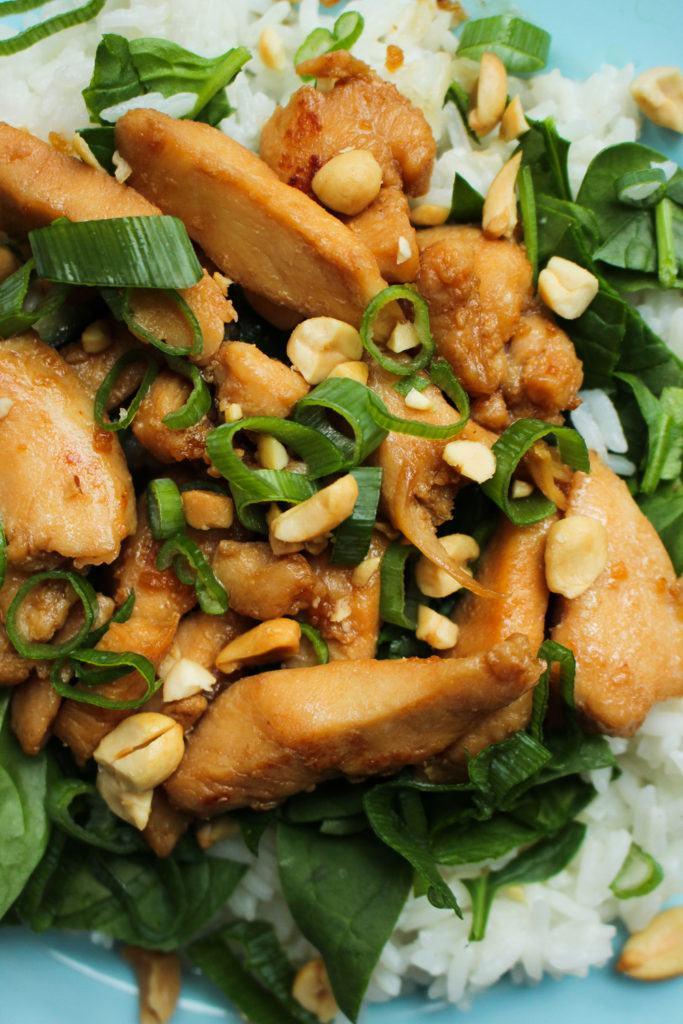 Honning- og sojamarineret kylling